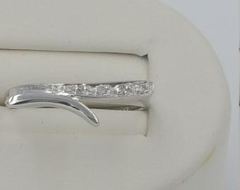 Diamond ring .05 carat total weight 10KT white gold