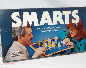 Smarts Strategy Game from Hoyle 1984 COMPLETE