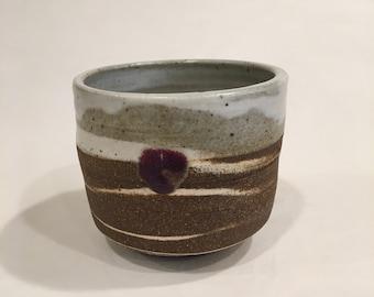 Asymmetric Cup, Pottery Tea Cup, Yunomi, MRCH18MCC4