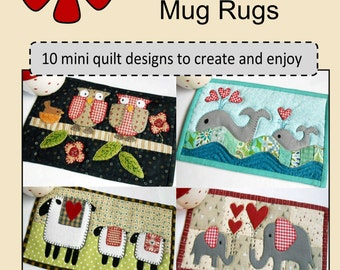 Animal and Pet Mug Rug Patterns:  10 Designs to Create and Enjoy