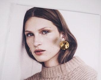 vintage knot earrings | gold knot earrings | knot stud earrings | gold stud earrings | costume jewelry | vintage costume jewelry | studs