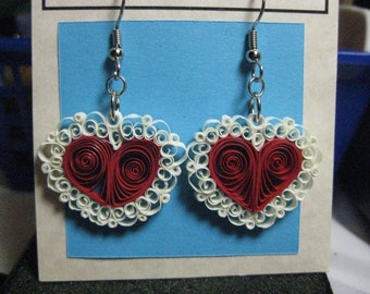 Lacy Valentine Earrings