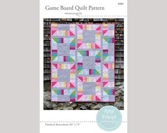 Game Board Quilt Pattern --Paper