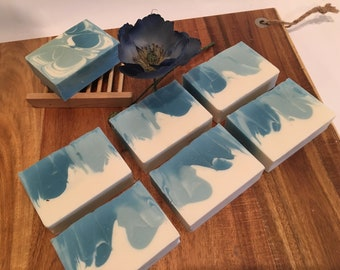 Ocean Circling Soap - Artisan Soap - Luxury Soap - Handmade Soap - Homemade Soap - Cold Process Soap - Bar Soap