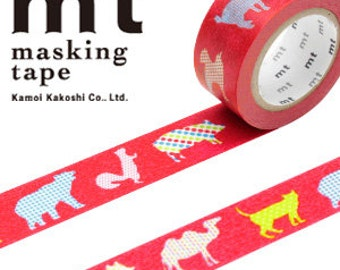 MT Washi Masking Deco Tape EX Animal Dot