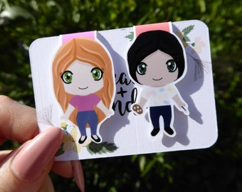 Confessions Magnetic Bookmarks