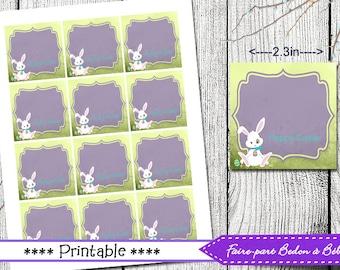 Easter tags etsy easter tags easter gift tags easter printable printable tags easter tags negle Choice Image
