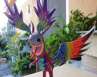 toy oaxacan wood carving