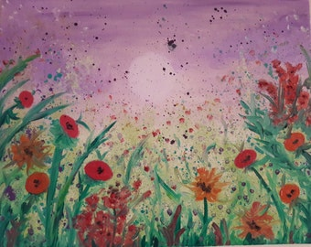 Spring Bloom Oil Painting - 16x20