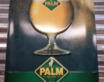 Vintage Palm Beer Sign-Dutch Beer Sign-European Beer Sign-Foreign Beer Sign-Palm Puur Rasbier-Unusual Beer Sign-Free Shipping