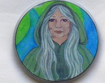 CRONE GODDESS Talisman Amulet Witch Wicca