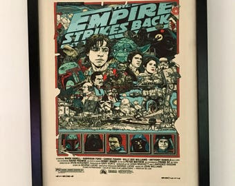 Star Wars The Empire Strikes Back Movie Poster