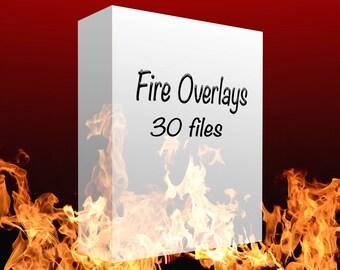 Fire Overlays (Digital files)