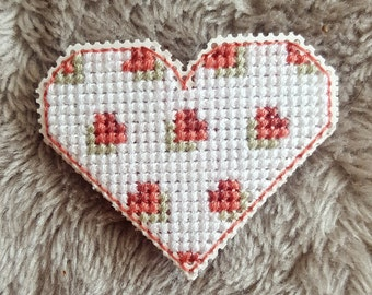 Corner Heart Bookmark