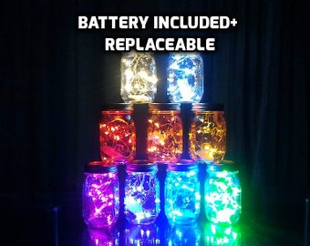 1 Meter Micro LED Fairy string light 1M/10 lights waterproof. Silver wire. white light, warm white,red, purple, green,pink
