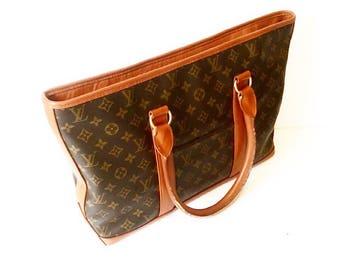 Authentic Vintage Louis Vuitton Monogram Weekender Tote Bag