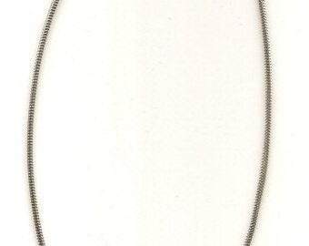 29 inch Sterling Silver Snake Chain Necklace 3mm with Lobster Clasp