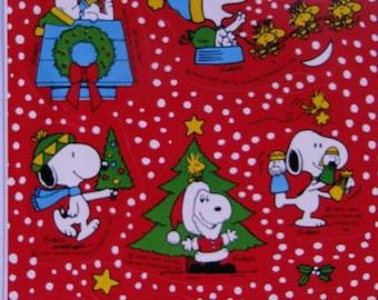 Vintage stickers. Snoopy Peanuts stickers. Christmas time stickers. Collectible.Figuritas.Retro. Hallmark. Ephemera.Charles Schultz. Snoopy