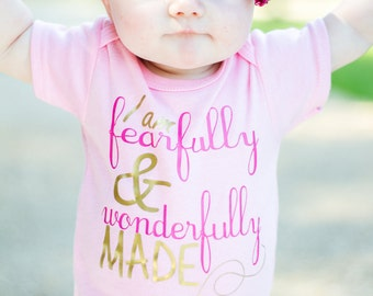 Personalized Newborn Pink gown or onesie girl gift coming home outfit new baby Photo props. Hairbow sold separate