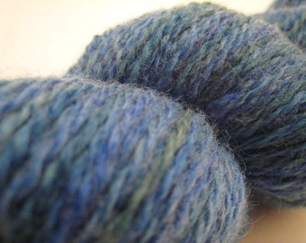 Ocean Blues - peruvian wool - sock yarn