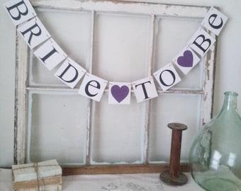 Purple Bridal Shower - Purple wedding Decor - Plum Purple Decorations