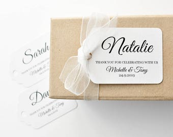 Wedding place tags, name tags wedding, wedding favours, bonbonniere, bomboniere, wedding name tags, wedding place cards, name cards, tags