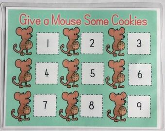 Cookie Counting/Number Game/Preschool/Kindergarten/Educational Game
