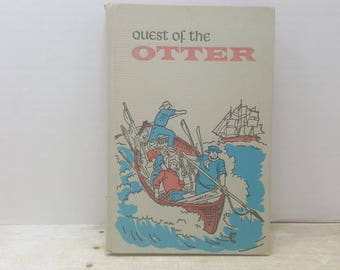 Quest of The Otter, 1963, Christopher Webb, vintage kids book