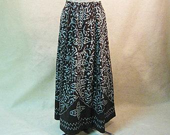 Embroidered Skirt, Boho Clothing, Romantic Skirt, Maxi Skirt, Gypsy Skirt, Hippie Skirt, Romantic Clothing, Embellished Skirt, Size M L