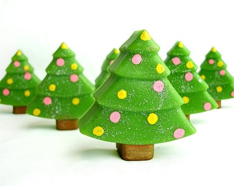 Christmas Tree Cuties - Goat's Milk Soap - 1 Piece
