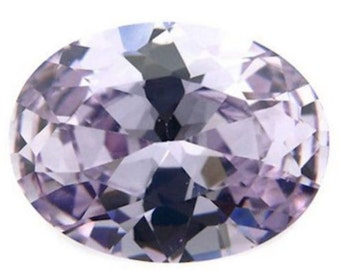 Cubic Zirconia Lavender Oval AAA Wholesale Lot Loose Stones (4x3mm - 18x13mm)