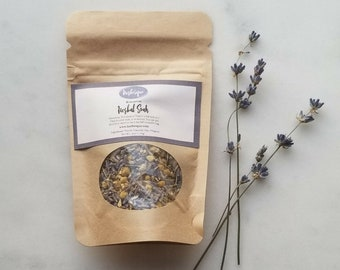 Relaxation Soak - Herbal Soak - Lavender Chamomile Soak - Natural Bath Products - Herbal Remedies - Dried Herbs - Tub Tea - Bath Tea