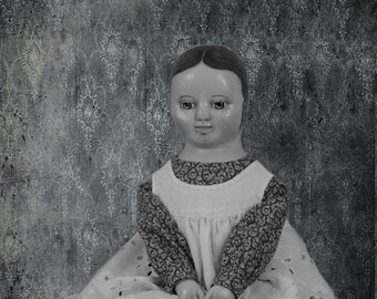 Izannah Walker reproduction  doll