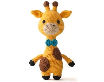 James the Giraffe Amigurumi Crochet toy pattern