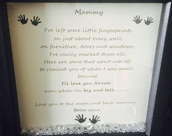 Mother frame / personalised gift for mum / mother gift / personalised gift for mother
