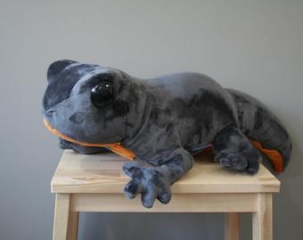 Salamander plush, big salamander plushie, 24 inch, made to order