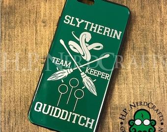 Slytherin Quidditch Phone Case