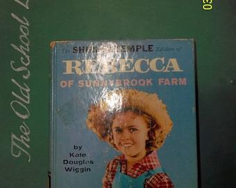 Rebecca of Sunnybrook Farm Kate Douglas Wiggin, 1950s, Shirley Temple Edition