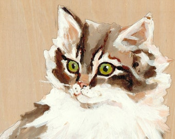 """The Great Hero Whiskers 5"""" x 7"""" Print"""