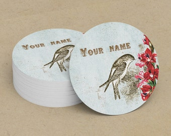 Custom Stickers  Custom Logo Stickers  Personalized Stickers  Product Labels  Adhesive Labels  Return Address Labels  Vintage Bird 2