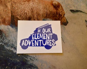 IN OUR ELEMENT Adventures (Youtube Vlog Logo)