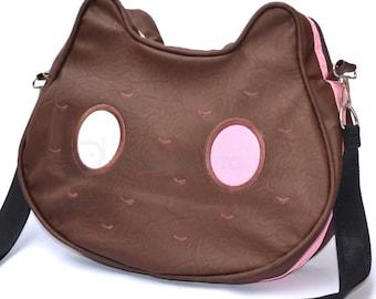 Cookie Cat messenger bag