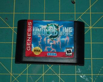 Undead-Line! Sega Genesis Repro! English!