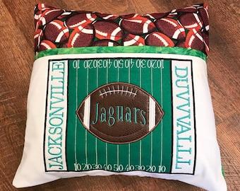 Jacksonville JaguarFootball Media/Reading Pillow