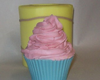 Swirl Cupcake Soap & Candle Mold