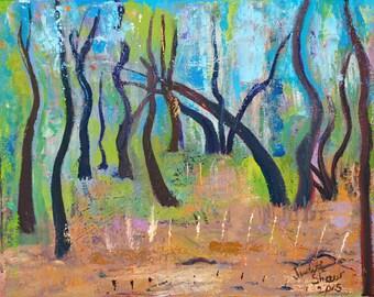 Bosque Lights - Tree Art
