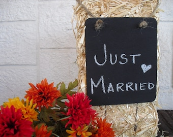 ONE Hanging Rectangle Chalkboard Signs - Item 1070