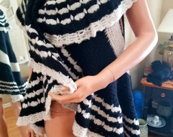 Crochet, handmade cardigan
