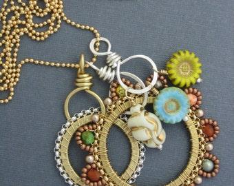 Tutti Fruity Charm Necklace