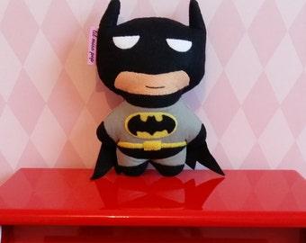 handsewn felt batman